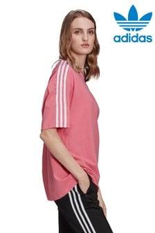 adidas Originals Oversized 3 Stripe T-Shirt