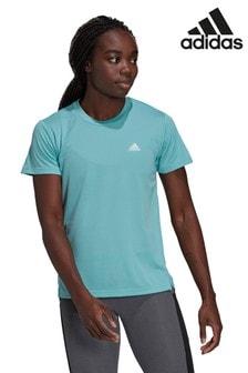 adidas Mint 3 Stripe T-Shirt