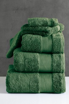 Ivy Green Egyptian Cotton Towels