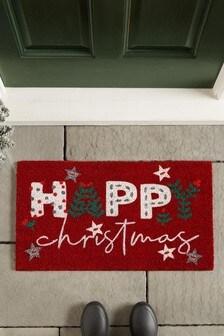 Happy Christmas Doormat