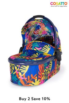 Cosatto Wowee Carrycot Club Tropicana
