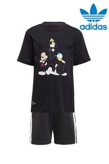 adidas Originals Little Kids Disney T-Shirt And Shorts Set