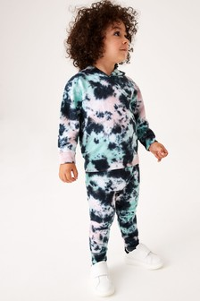 Tie Dye Hoodie And Jogger Set (3mths-7yrs)