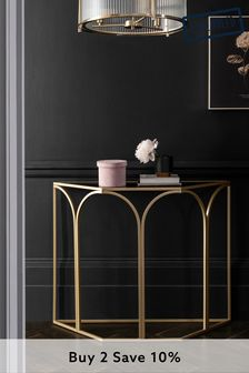 Gold Chic Arch Console