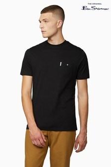 Ben Sherman Black Signature Pocket T-Shirt