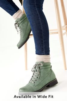 Forever Comfort® Casual Lace-Up Boots