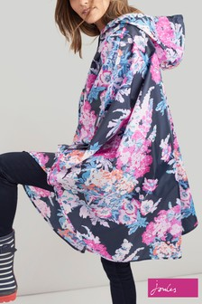 Joules Blue Poncho