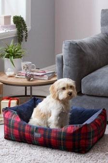 Tartan Dog Bed