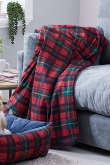 Tartan Dog Blanket