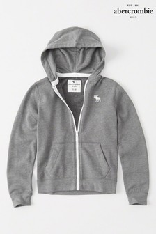 Abercrombie & Fitch Icon Zip Through Hoody