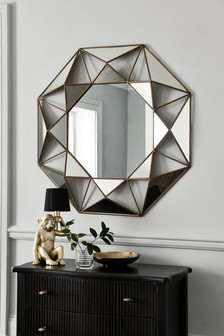 Faceted Large Mirror