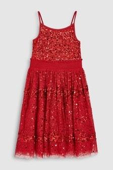 Sequin Dress (3-16yrs)
