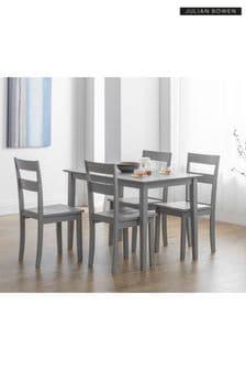 Set of 2 Kobe Dining Chairs by Julian Bowen