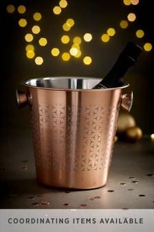 Rosa Metallic Champagne Bucket