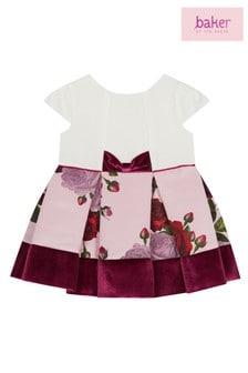baker by Ted Baker Pink Rose Mockable Dress