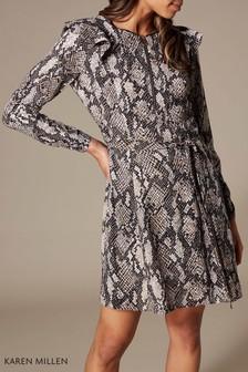 Karen Millen Snake Print Dress