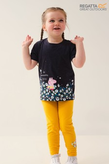 Regatta Navy Peppa Pig™ T-Shirt & Leggings Set