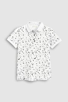Splat Polo Shirt (3-16yrs)
