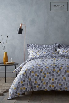 Bianca Brushstrokes Duvet Cover And Pillowcase Set