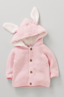 Bunny Ears Cardigan (0mths-2yrs)