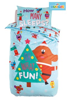 Christmas Hey Duggee Duvet Cover and Pillowcase Set