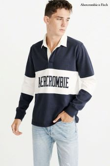Abercrombie & Fitch Colourblock Poloshirt
