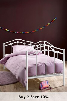 Sophie White Metal Day Bed