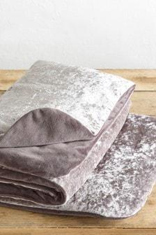 Crushed Velvet Dog Blanket