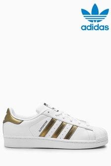 5501079b7 adidas Originals White Gold Superstar
