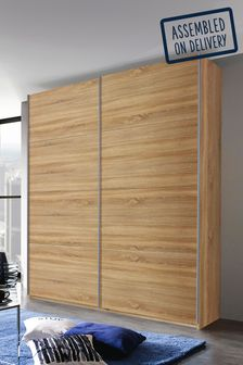 Cameron 1.81m Wood Sliding Wardrobe By Rauch