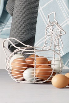 Chicken Shaped Egg Basket