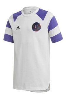 adidas White Pogba T-Shirt