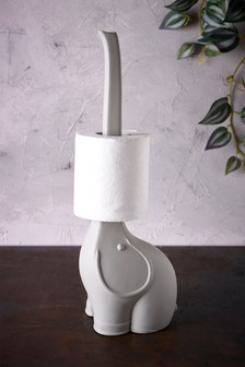 Baby Elephant Toilet Roll Stand