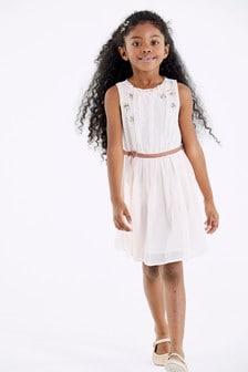 Sequin Star Dress (3-16yrs)