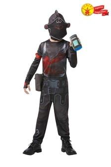 Rubies Fortnite Black Knight Jumpsuit Fancy Dress Costume