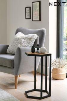 Jefferson Rustic Side Table / Bedside