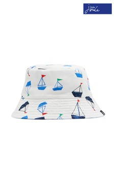 Joules Green Brit Reversible Bucket Hat