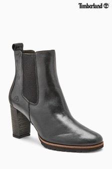 Timberland® Leslie Black Anne Chelsea Boot