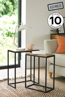 Jefferson Rustic Nest Of 2 Tables
