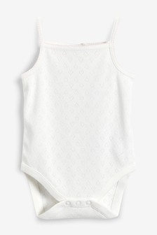 Pointelle Bodysuits Three Pack (0mths-2yrs)