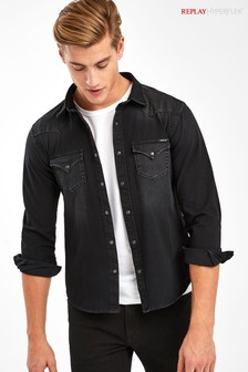 Replay® Hyperflex Denim Shirt