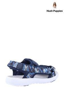 Hush Puppies Blue Miles Quarter Strap Sandals