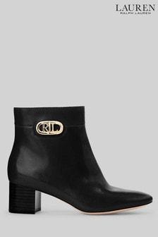 Lauren Ralph Lauren Black Wynne Boots