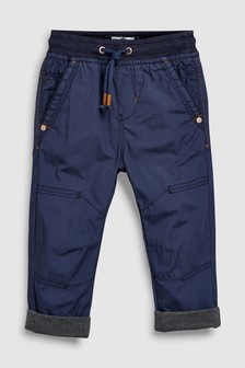Jersey Lined Boarder Trousers (3mths-7yrs)