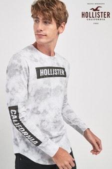 Hollister Graphic Long Sleeve Tee