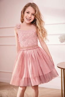 Embellished Tutu Dress (3-16yrs)