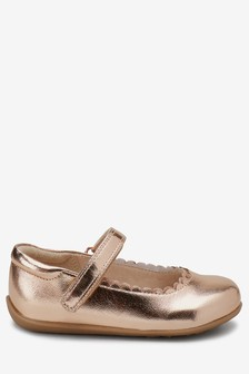 Scallop Mary Jane Shoes (Younger)
