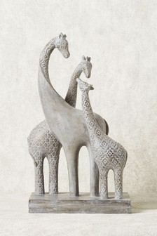 Giraffe Family Sculpture