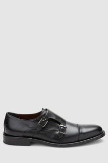 Signature Toe Cap Monk Shoe