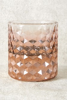 Ombre Glass Tealight Holder